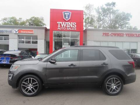 2017 Ford Explorer for sale at Twins Auto Sales Inc in Detroit MI
