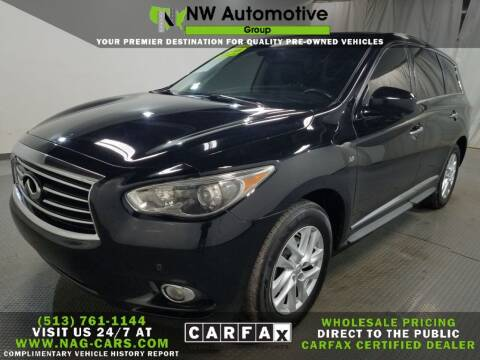 2014 Infiniti QX60 for sale at NW Automotive Group in Cincinnati OH