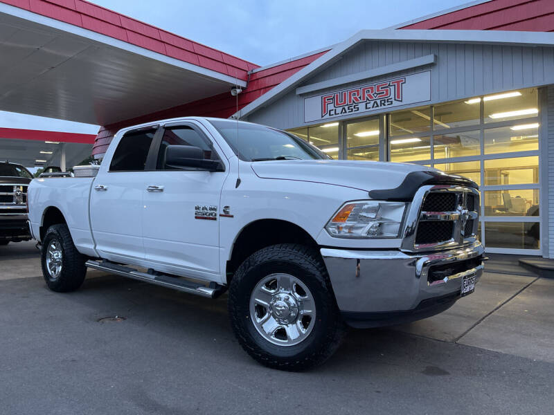 2016 RAM Ram Pickup 2500 for sale at Furrst Class Cars LLC in Charlotte NC