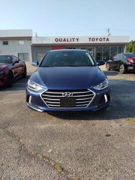 2017 Hyundai Elantra for sale at Quality Toyota in Independence KS