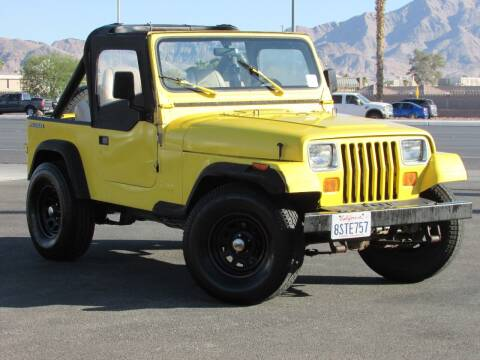 1990 Jeep Wrangler for sale at Best Auto Buy in Las Vegas NV