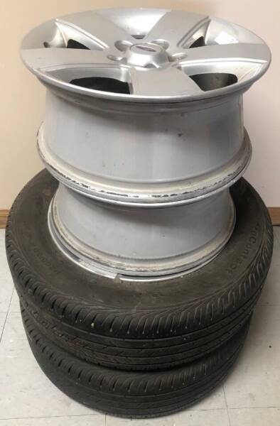 2 Tires & 2 Rims  for Sale P205/60R16 for sale at Geiser Classic Autos in Roanoke IL