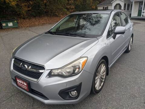 2013 Subaru Impreza for sale at AUTO CONNECTION LLC in Springfield VT