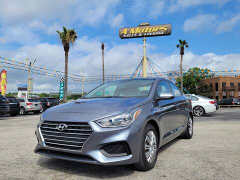 2020 Hyundai Accent for sale at A MOTORS SALES AND FINANCE in San Antonio TX