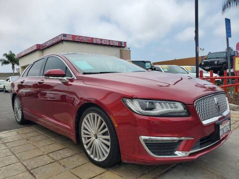 2017 Lincoln MKZ for sale at CARCO SALES & FINANCE - CARCO OF POWAY in Poway CA