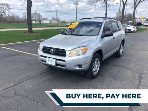 2007 Toyota RAV4 for sale at Stryker Auto Sales in South Elgin IL