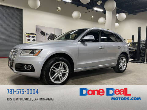2016 Audi Q5 for sale at DONE DEAL MOTORS in Canton MA