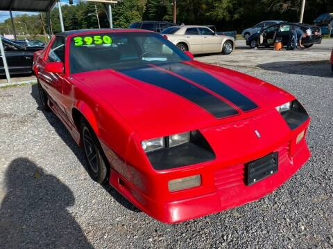 1992 Chevrolet Camaro for sale at Rocket Center Auto Sales in Mount Carmel TN