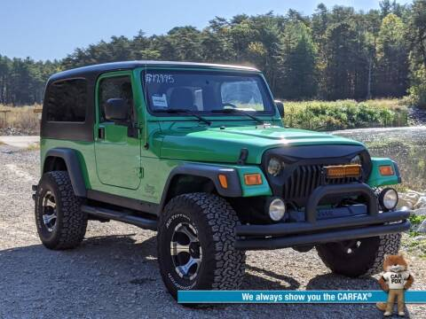 2005 Jeep Wrangler for sale at Bob Walters Linton Motors in Linton IN