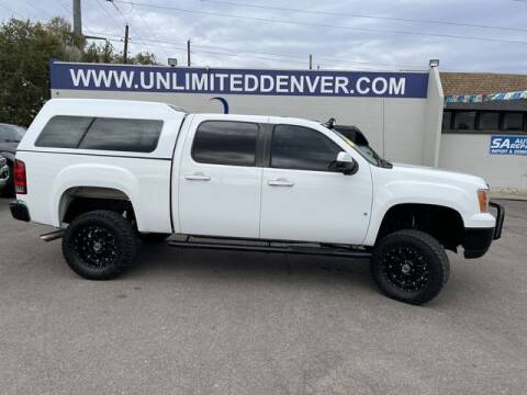 2008 GMC Sierra 1500 for sale at Unlimited Auto Sales in Denver CO