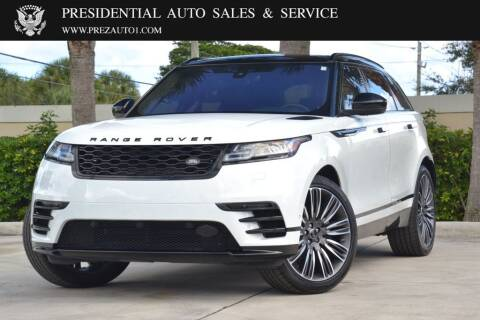 2019 Land Rover Range Rover Velar for sale at Presidential Auto  Sales & Service in Delray Beach FL