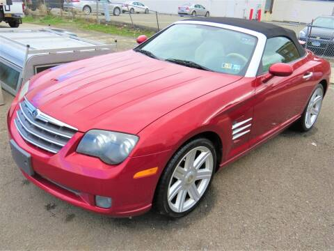 2005 Chrysler Crossfire for sale at VITALI AUTO EXCHANGE in Johnson City NY