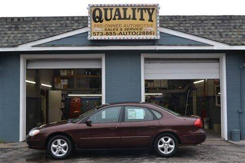 2001 Ford Taurus for sale at Quality Pre-Owned Automotive in Cuba MO