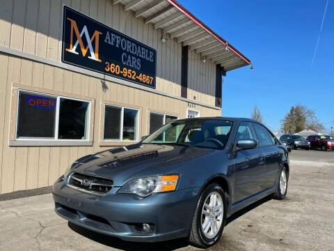 2005 Subaru Legacy for sale at M & A Affordable Cars in Vancouver WA