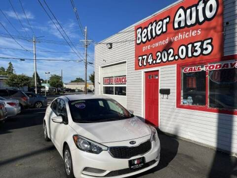 2015 Kia Forte for sale at Better Auto in Dartmouth MA