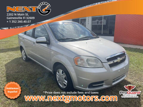 2008 Chevrolet Aveo for sale at Next G Motors in Gainesville FL