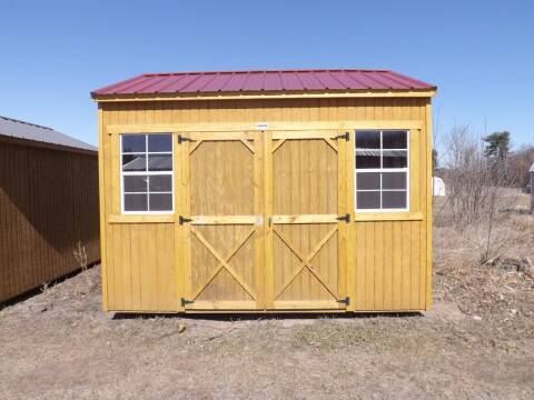 10 x  12 utility style w/8 ft walls for sale at Extra Sharp Autos in Montello WI