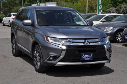 2018 Mitsubishi Outlander for sale at Amati Auto Group in Hooksett NH