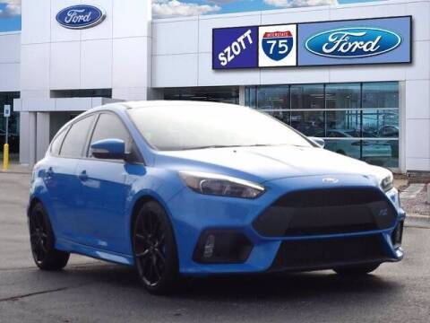 2016 Ford Focus for sale at Szott Ford in Holly MI