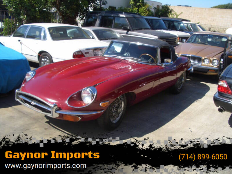 1971 Jaguar E-Type for sale at Gaynor Imports in Stanton CA