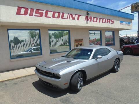 2014 Dodge Challenger for sale at Discount Motors in Pueblo CO