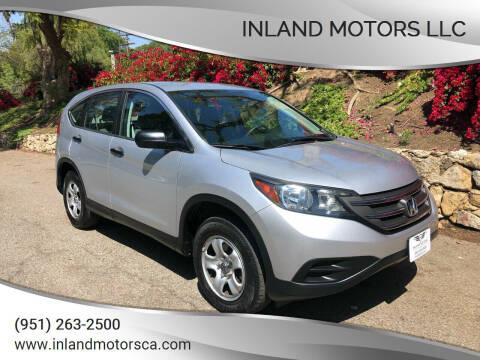 2014 Honda CR-V for sale at Inland Motors LLC in Riverside CA