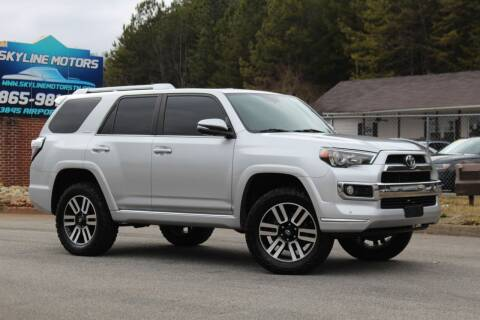2014 Toyota 4Runner for sale at Skyline Motors in Louisville TN