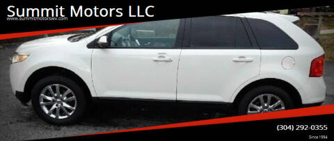 2013 Ford Edge for sale at Summit Motors LLC in Morgantown WV