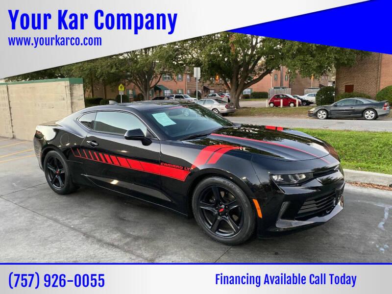 2017 Chevrolet Camaro for sale at Your Kar Company in Norfolk VA