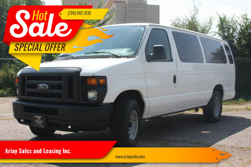 2009 Ford E-Series Wagon for sale at Ariay Sales and Leasing Inc. - Pre Owned Storage Lot in Denver CO