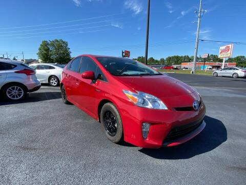 2015 Toyota Prius for sale at McCully's Automotive in Benton KY