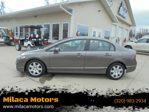 2011 Honda Civic for sale at Milaca Motors in Milaca MN