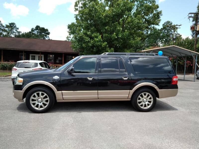 2011 Ford Expedition EL for sale at Victory Motor Company in Conroe TX
