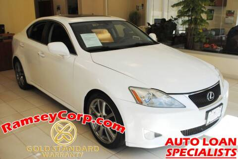 2008 Lexus IS 250 for sale at Ramsey Corp. in West Milford NJ
