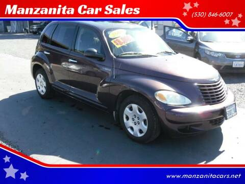 2005 Chrysler PT Cruiser for sale at Manzanita Car Sales in Gridley CA