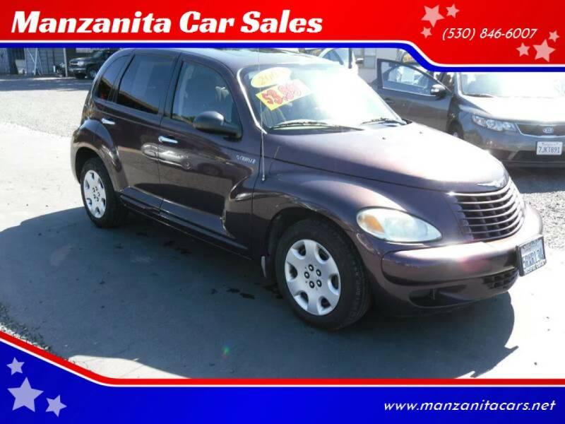 2005 Chrysler PT Cruiser for sale at Manzanita Car Sales in Gridley CA