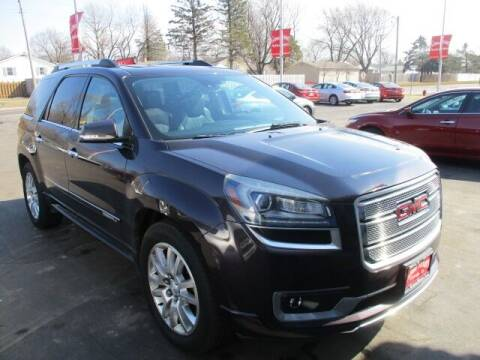 2015 GMC Acadia for sale at GENOA MOTORS INC in Genoa IL