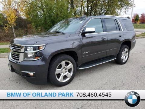 2016 Chevrolet Tahoe for sale at BMW OF ORLAND PARK in Orland Park IL