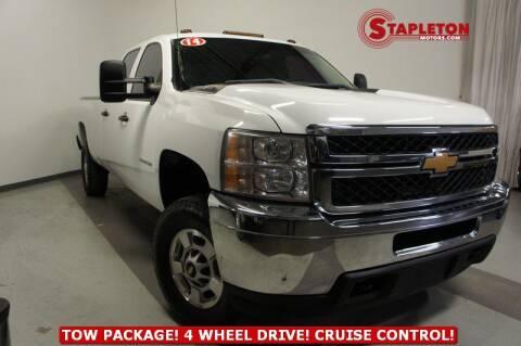 2014 Chevrolet Silverado 2500HD for sale at STAPLETON MOTORS in Commerce City CO