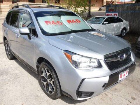 2016 Subaru Forester for sale at R & D Motors in Austin TX