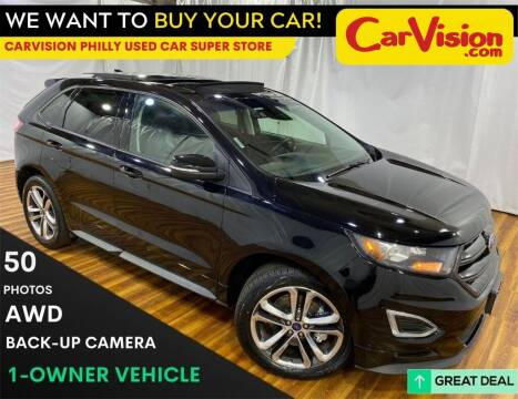 2017 Ford Edge for sale at Car Vision Mitsubishi Norristown - Car Vision Philly Used Car SuperStore in Philadelphia PA