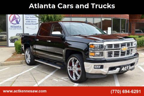 2015 Chevrolet Silverado 1500 for sale at Atlanta Cars and Trucks in Kennesaw GA
