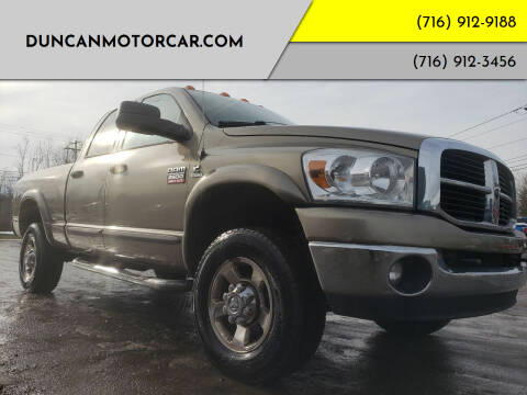 2007 Dodge Ram Pickup 2500 for sale at DuncanMotorcar.com in Buffalo NY