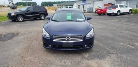 2009 Nissan Maxima for sale at D AND D AUTO SALES AND REPAIR in Marion WI
