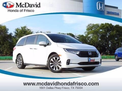 2022 Honda Odyssey for sale at DAVID McDAVID HONDA OF IRVING in Irving TX