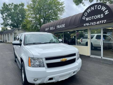 2012 Chevrolet Suburban for sale at Downtown Motors in Macon GA