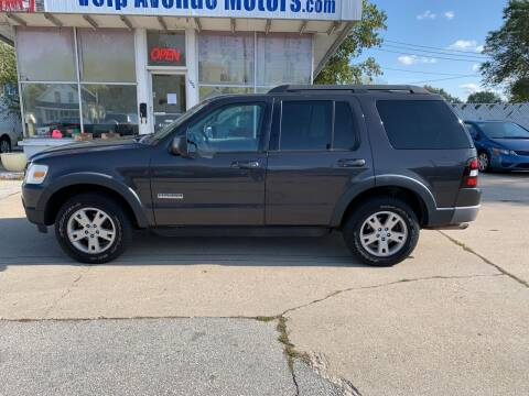 2007 Ford Explorer for sale at Velp Avenue Motors LLC in Green Bay WI
