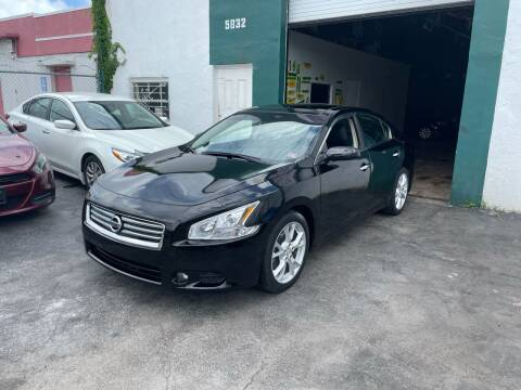 2014 Nissan Maxima for sale at Dream Cars 4 U in Hollywood FL