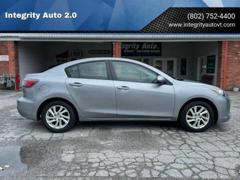 2012 Mazda MAZDA3 for sale at Integrity Auto 2.0 in Saint Albans VT