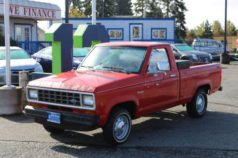 1987 Ford Ranger for sale at BAYSIDE AUTO SALES in Everett WA